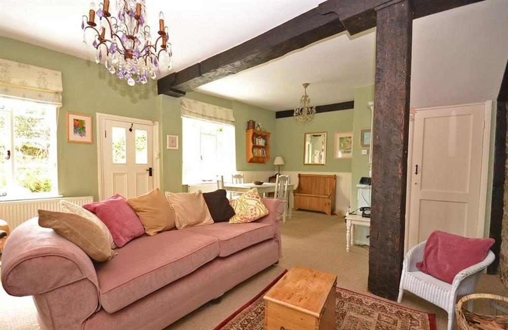 The cottage reflects lots of character at 4 Ramparts Walk, Totnes