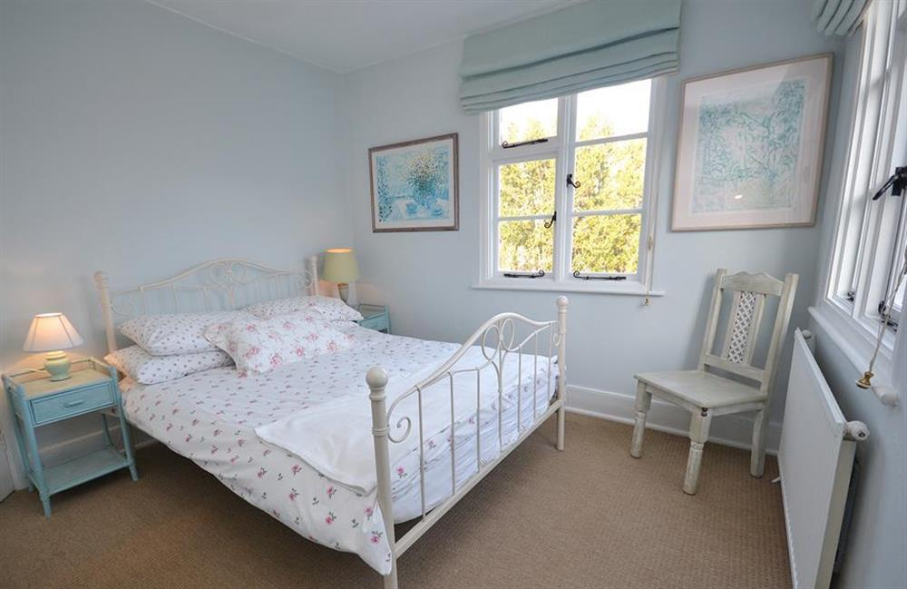 The main double bedroom at 4 Ramparts Walk, Totnes