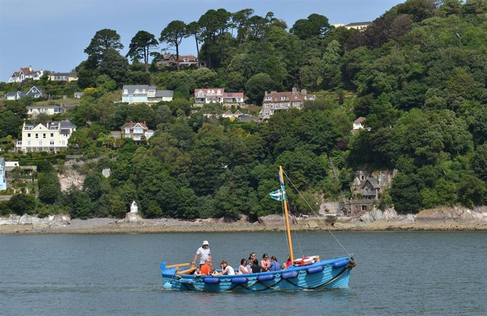 Enjoy one of the many local boat trips at 42 Above Town, Dartmouth