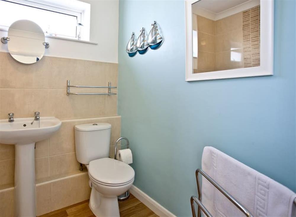 Bathroom at 5 Linden Court in , Brixham