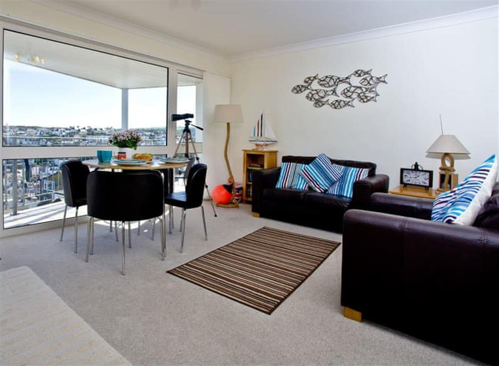 Open plan living space at 5 Linden Court in , Brixham