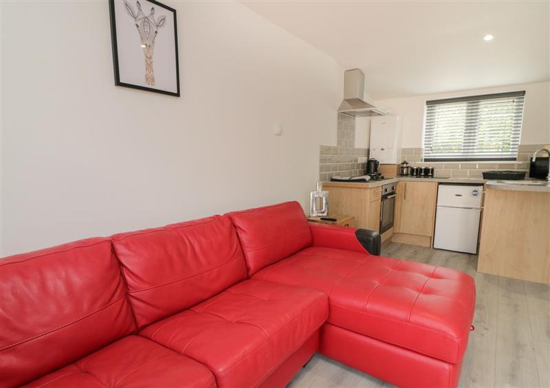 This is the living room at 5 River Barns, Portreath