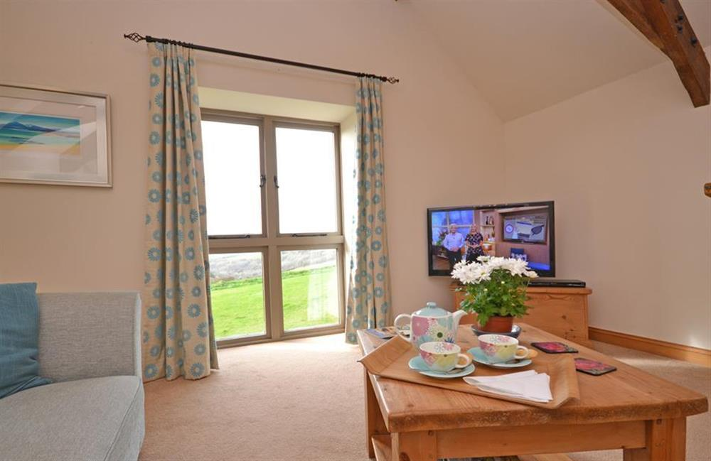 Fabulous view of rolling countryside at 5 West Hartley Barns, Blackawton