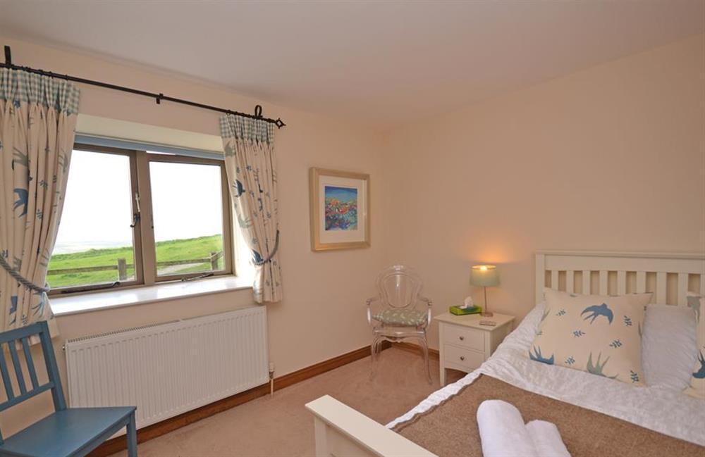 Splendid views from the master bedroom at 5 West Hartley Barns, Blackawton
