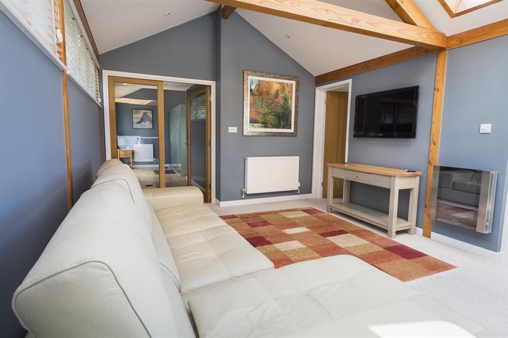 Stunning sitting room on the upper floor