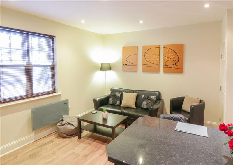 Enjoy the living room at 6 Admiral Chaloner House, Guisborough