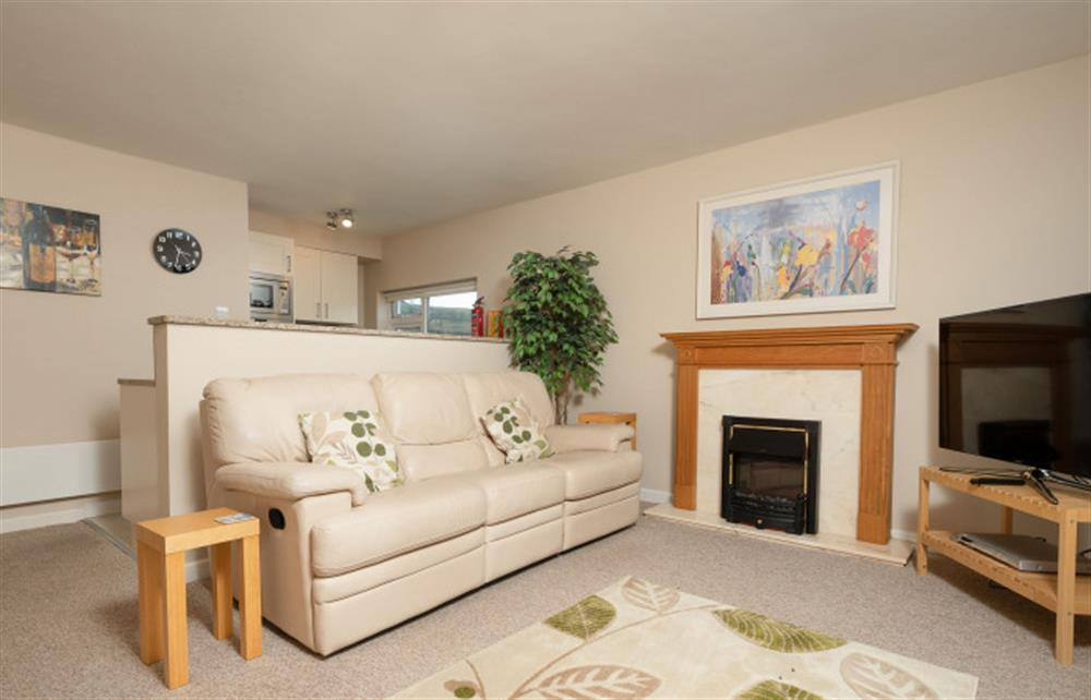 The lovely open plan living space at 6 Lee Court. at 6 Lee Court, Dartmouth