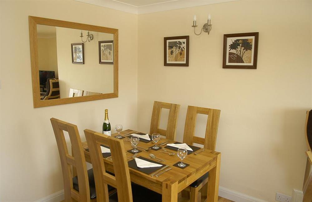 Another view of the dining area at 6 Mayflower Court, Dartmouth