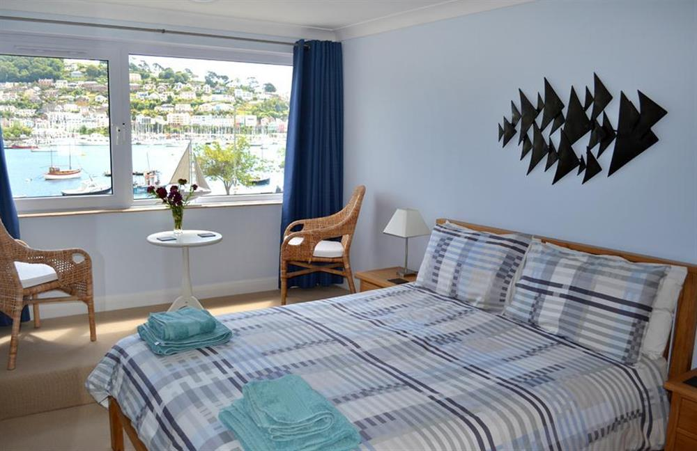 The double bedroom at 6 Mayflower Court, Dartmouth