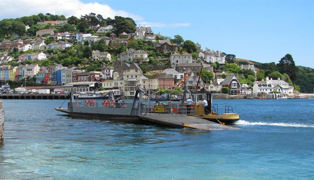The Lower Kingswear ferry at 6 Mayflower Court, Dartmouth