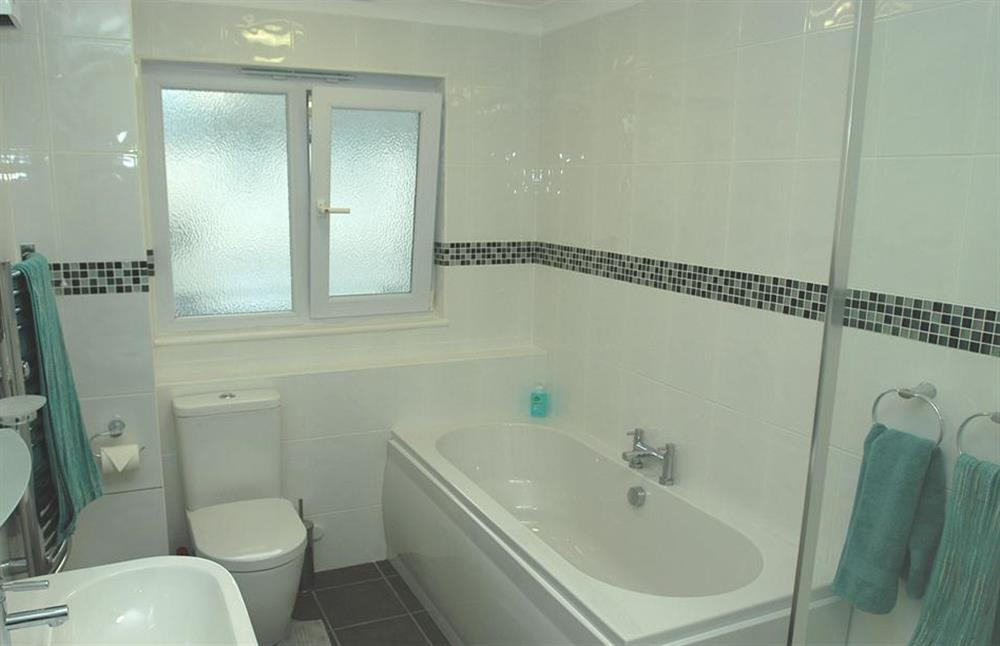The new bathroom at 6 Mayflower Court, Dartmouth