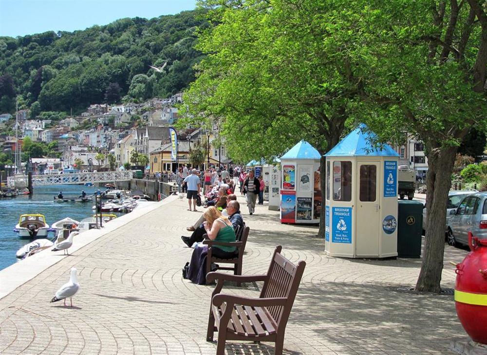 The quayside in Dartmouth at 6 Mayflower Court, Dartmouth