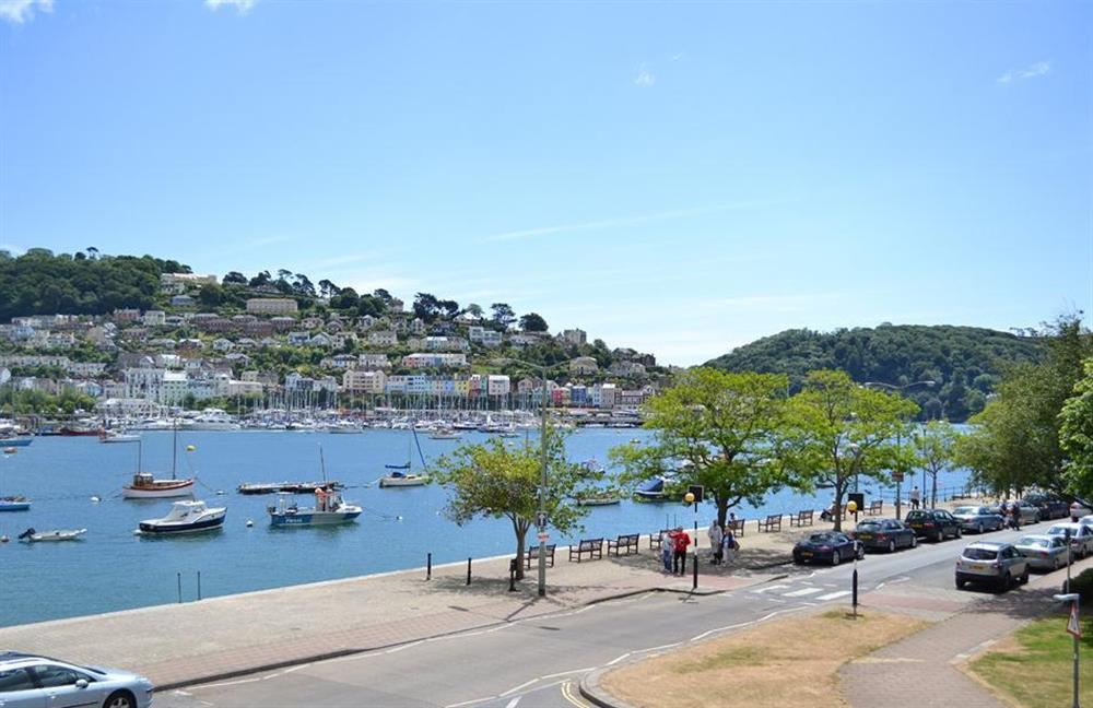 The view from the apartment at 6 Mayflower Court, Dartmouth
