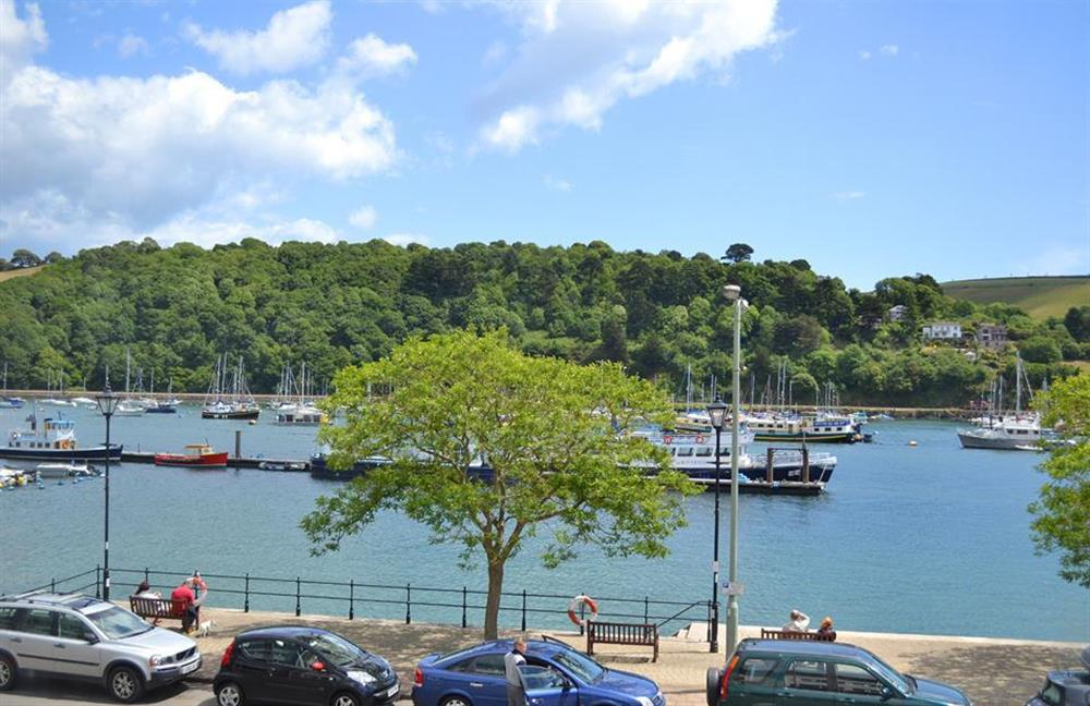 Welcome to 6 Mayflower Court.  The superb views from the living room at 6 Mayflower Court, Dartmouth