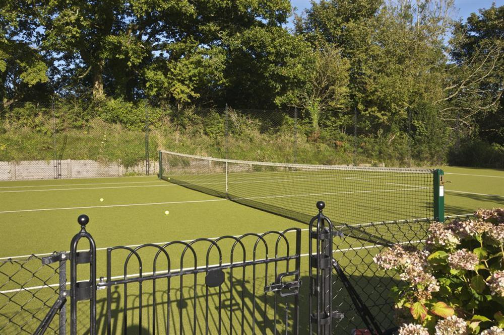 All weather tennis court (photo 3) at 6 The Manor House, Hillfield Village in , Hillfield, Dartmouth