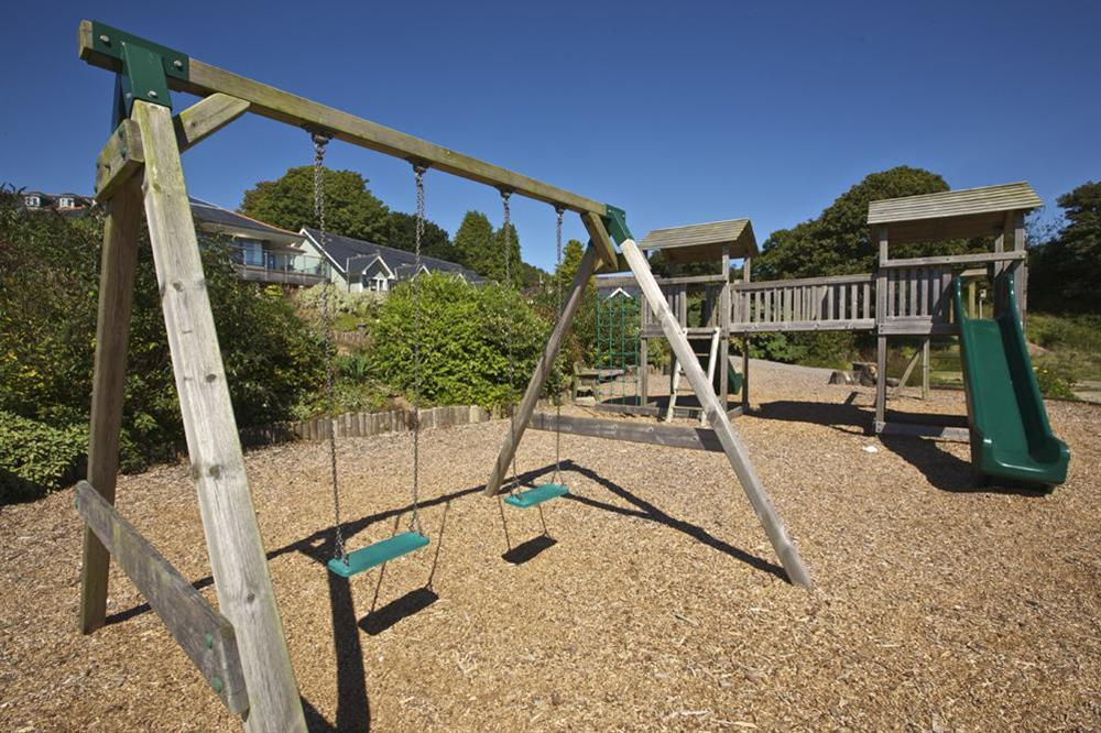 Children's play area at 6 The Manor House, Hillfield Village in , Hillfield, Dartmouth