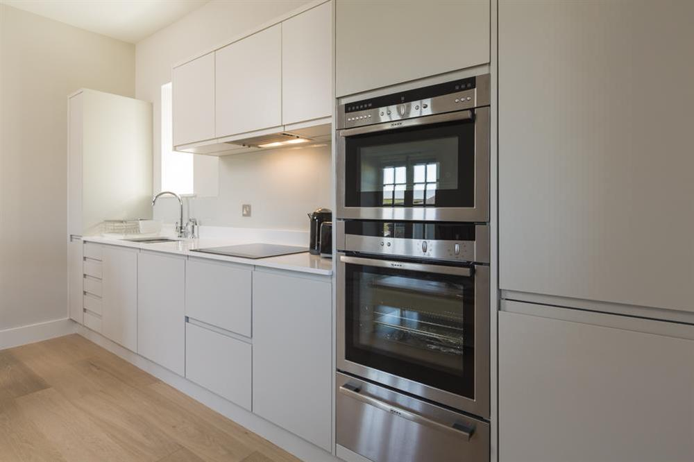 Contemporary, well equipped kitchen at 6 The Manor House, Hillfield Village in , Hillfield, Dartmouth