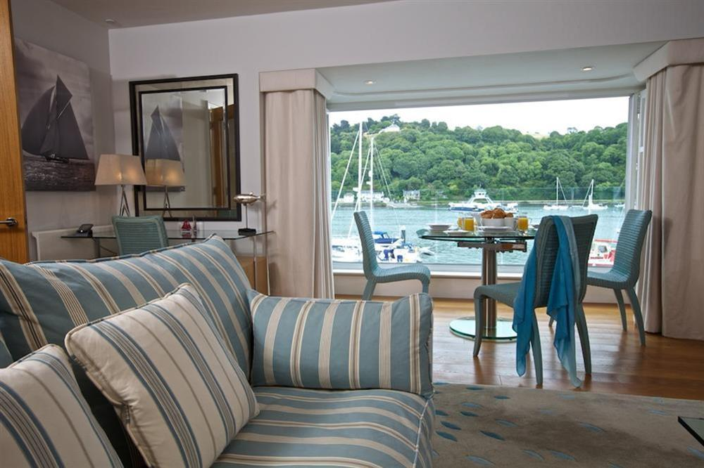 Lounge and dining area at 7 Dart Marina in Sandquay Road, Dartmouth