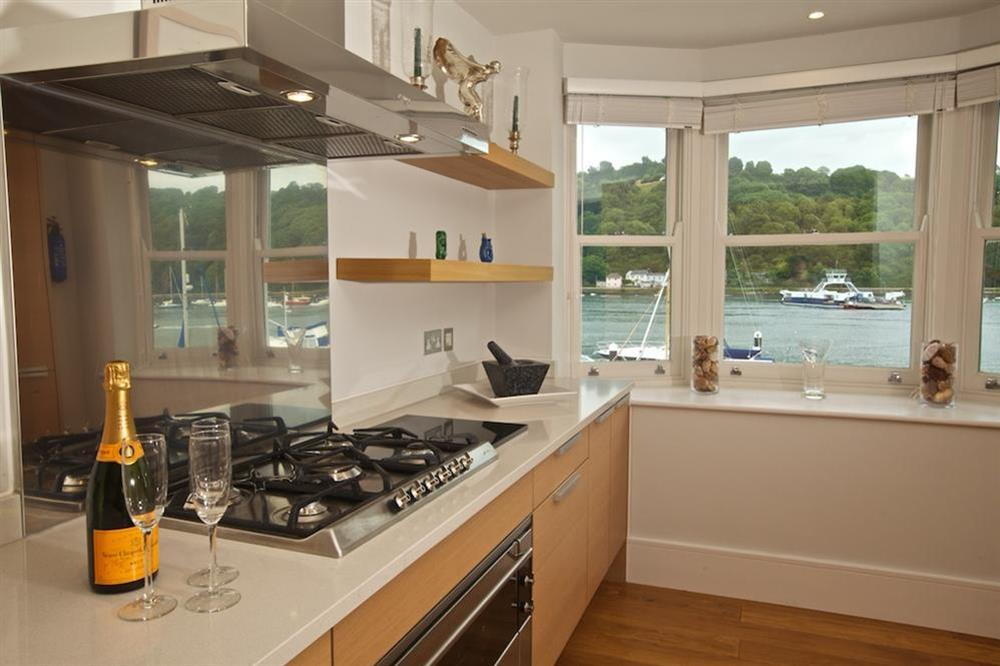 State-of-the-art Poggenpohl kitchen (photo 2) at 7 Dart Marina in Sandquay Road, Dartmouth