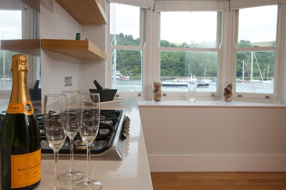 State-of-the-art Poggenpohl kitchen at 7 Dart Marina in Sandquay Road, Dartmouth