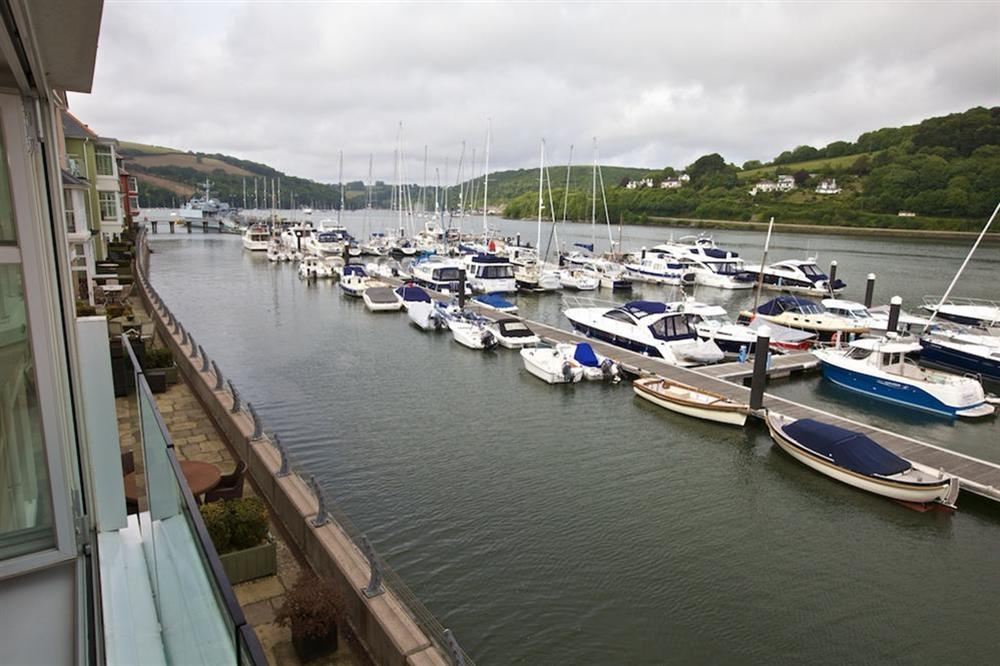 Stunning views from 'internal' balcony (photo 3) at 7 Dart Marina in Sandquay Road, Dartmouth