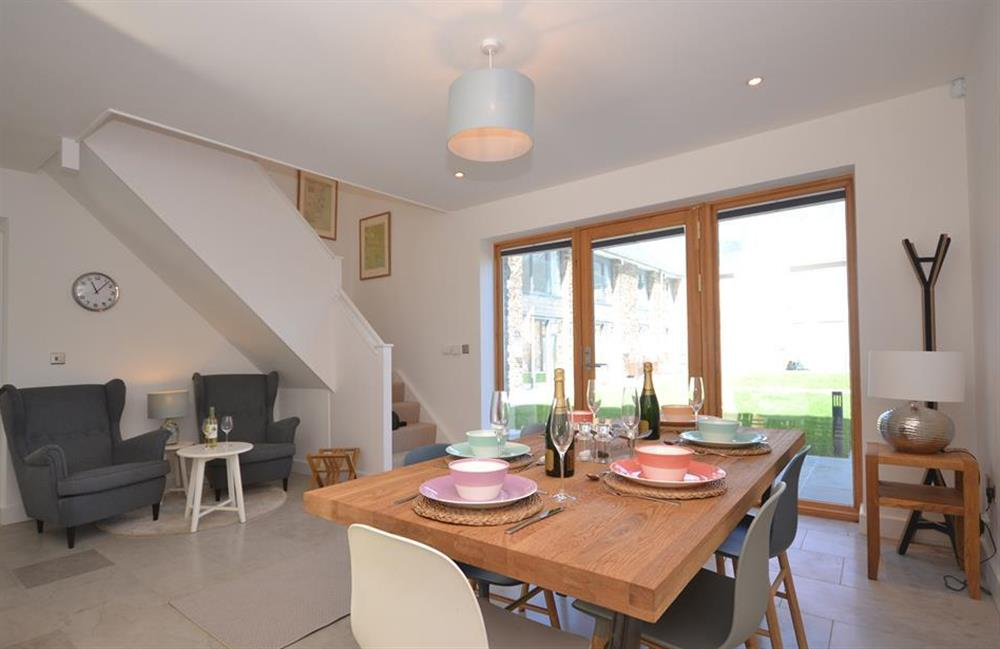 The dining area at 7 Dufour, East Allington