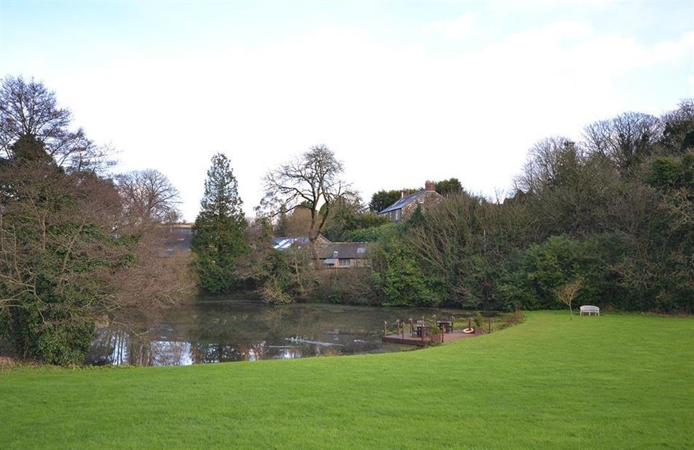 The lake with picnic area at 7 Dufour, East Allington