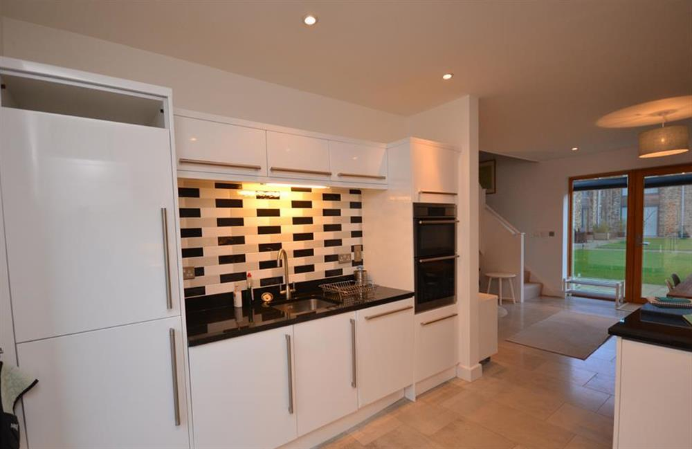 The modern very well equipped kitchen at 7 Dufour, East Allington