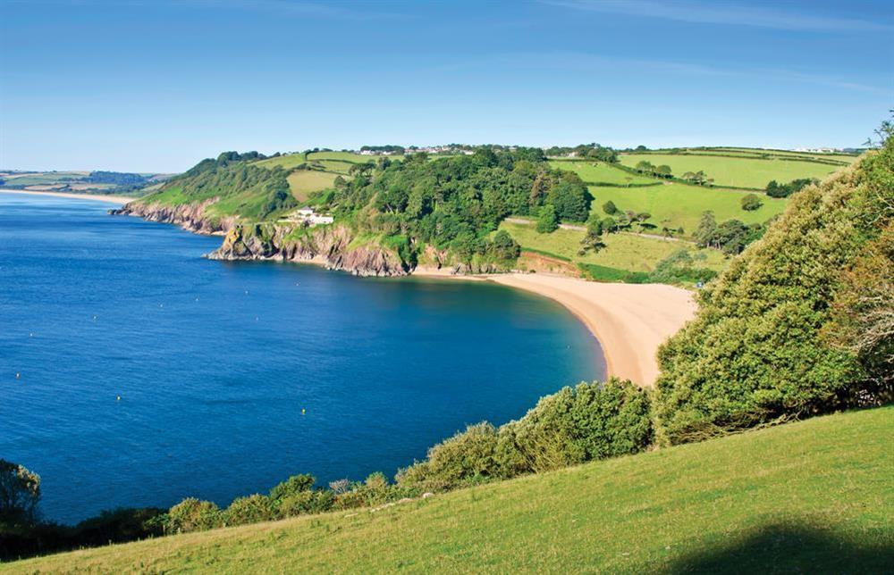 Blackpool Sands beach and the Start Bay coastline at 7 Nelson Steps in , Dartmouth