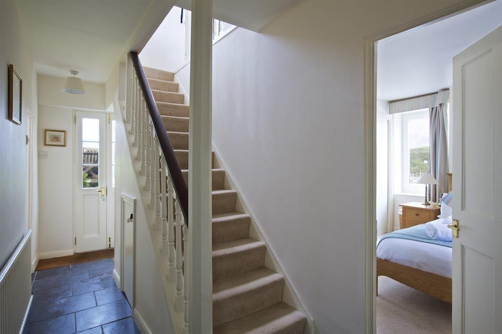 Halway with stairs leading to the living accomodation at 7 Nelson Steps in , Dartmouth