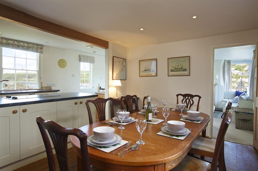 Kitchen and dining area at 7 Nelson Steps in , Dartmouth