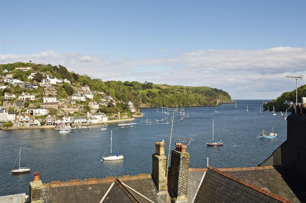 Lovely views over Dartmouth estuary at 7 Nelson Steps in , Dartmouth