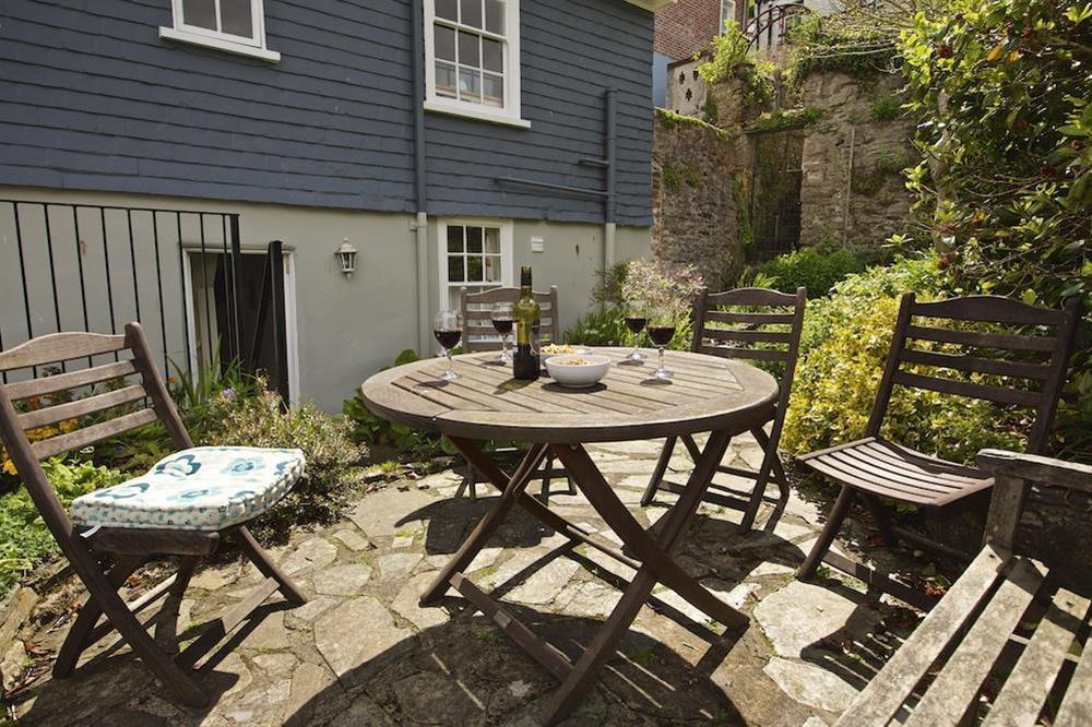 Terrace area with chairs seating 4 (photo 2) at 7 Nelson Steps in , Dartmouth