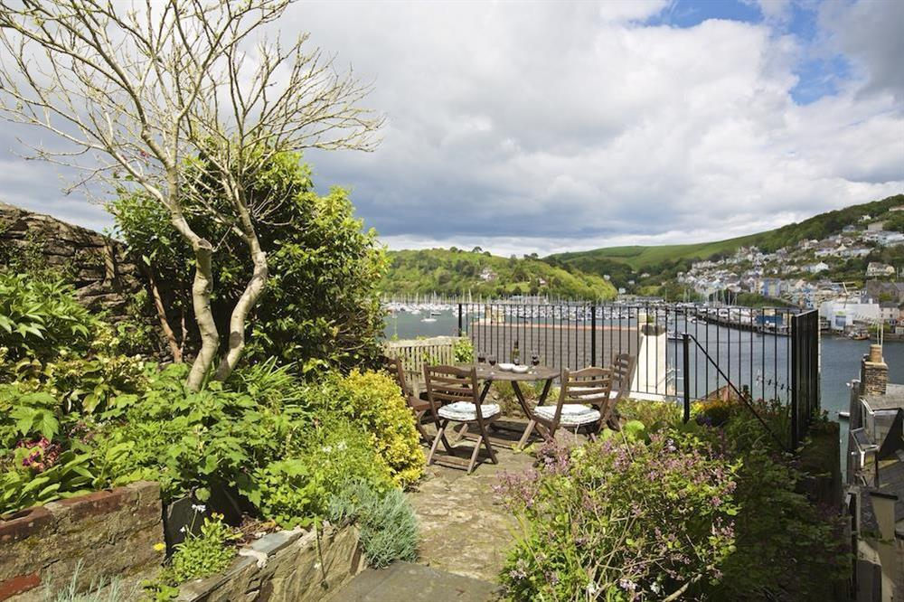 Terrace area with chairs seating 4 at 7 Nelson Steps in , Dartmouth