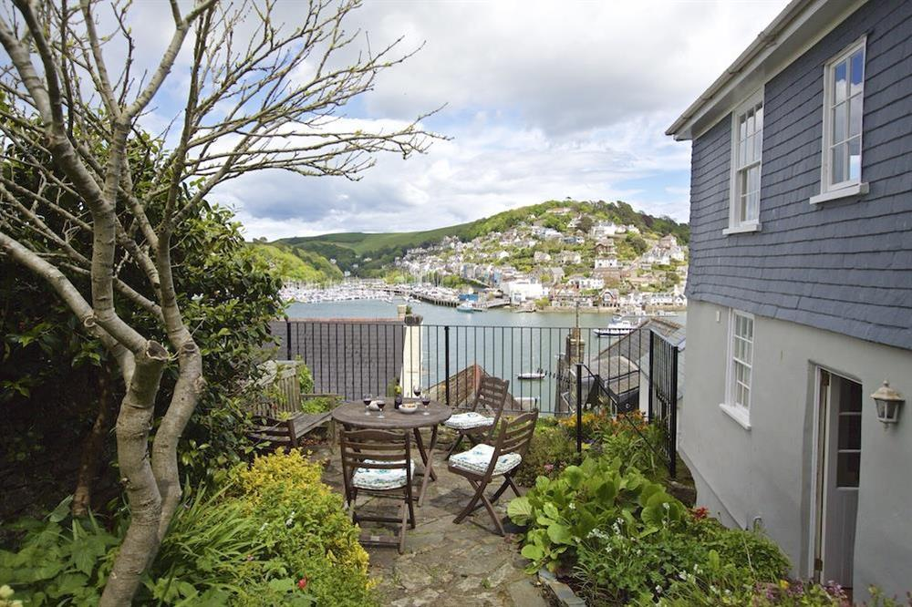 Terrace area with lovely views over Dartmouth estuary (photo 2) at 7 Nelson Steps in , Dartmouth