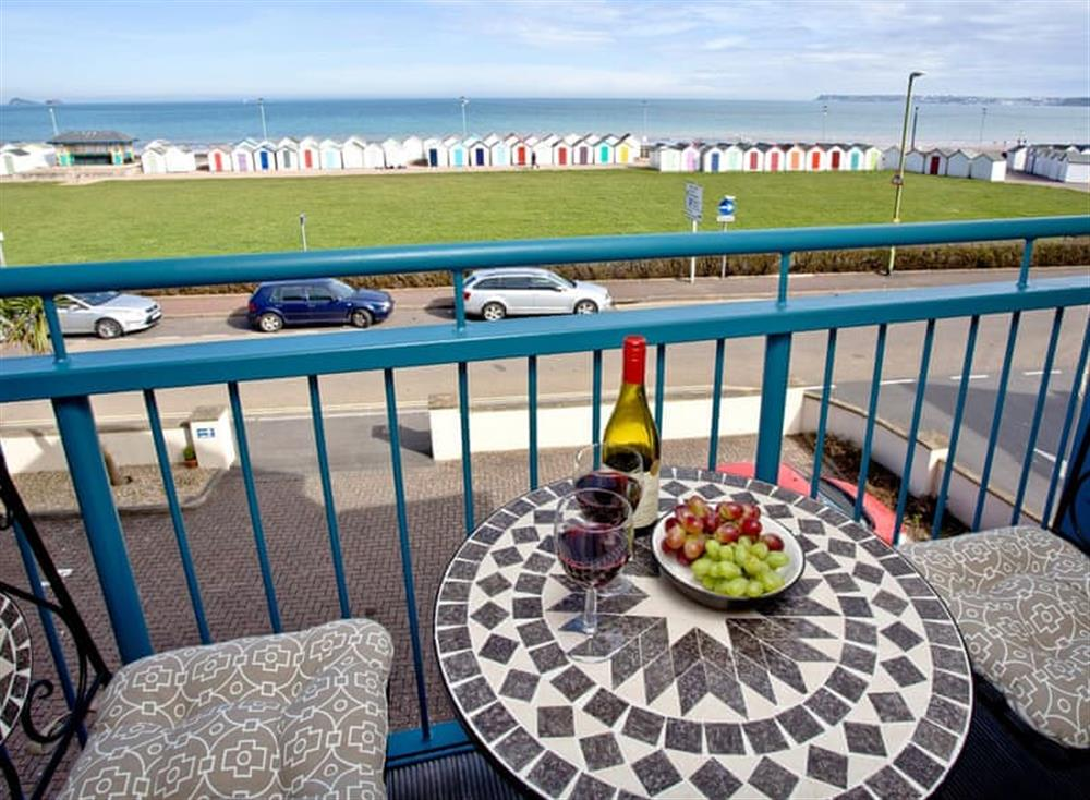 Balcony at 8 Belvedere Court in , Paignton