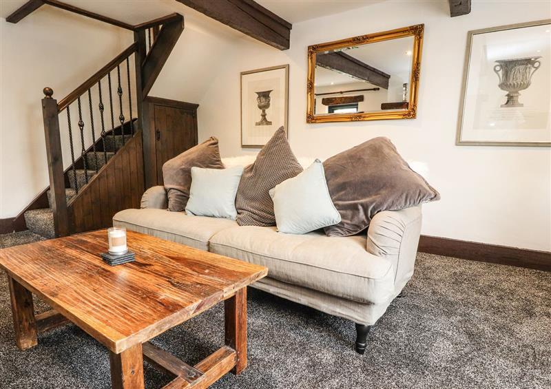 Enjoy the living room at 8 Long Row, Mellor