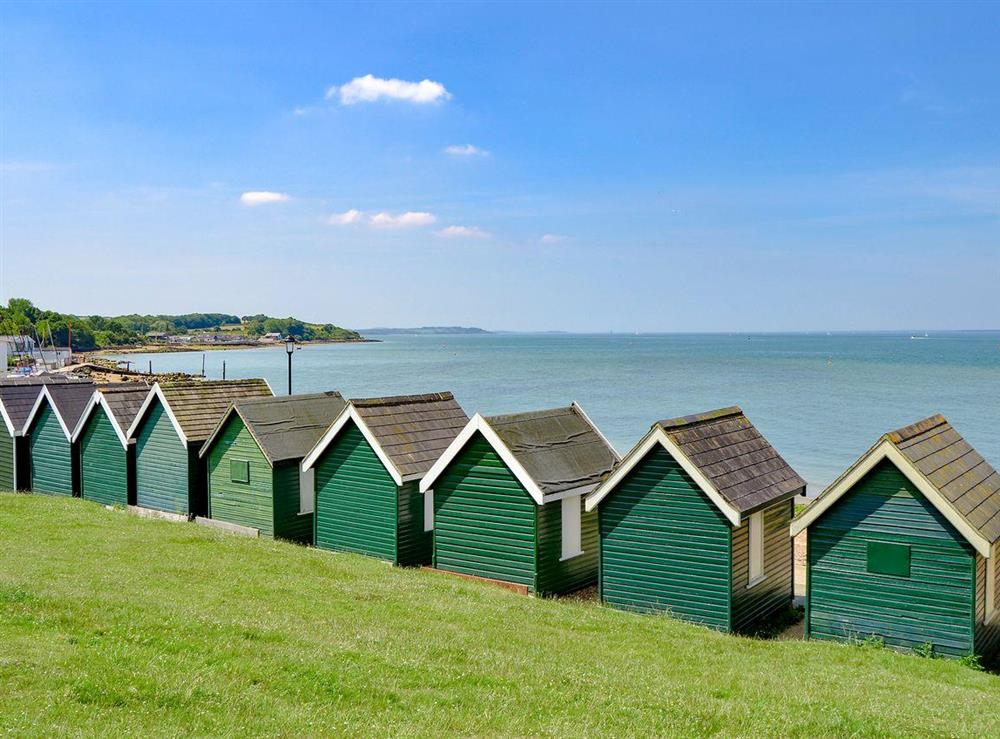 Gurnard Beach is a quaint traditional, pebble and shingle beach at 83 Gurnard Pines in Gurnard, near Cowes, Isle of Wight