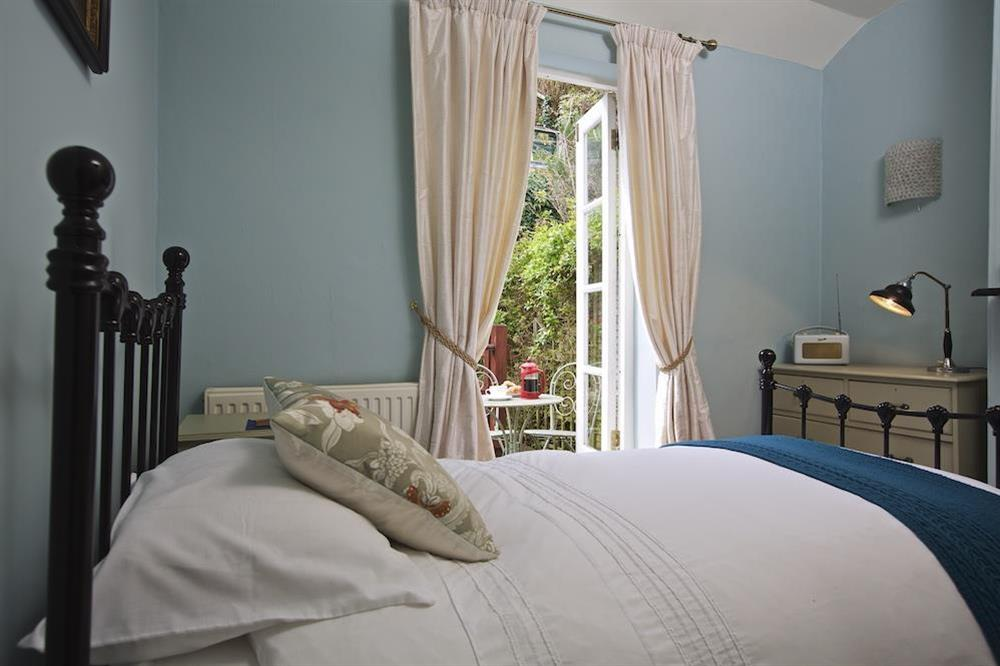 Second bedroom has single bed (with further 'pop-up' single below) at 94 Above Town in , Dartmouth