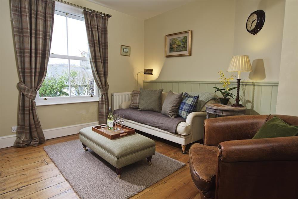 Stylishly furnished and cosy sitting room at 94 Above Town in , Dartmouth