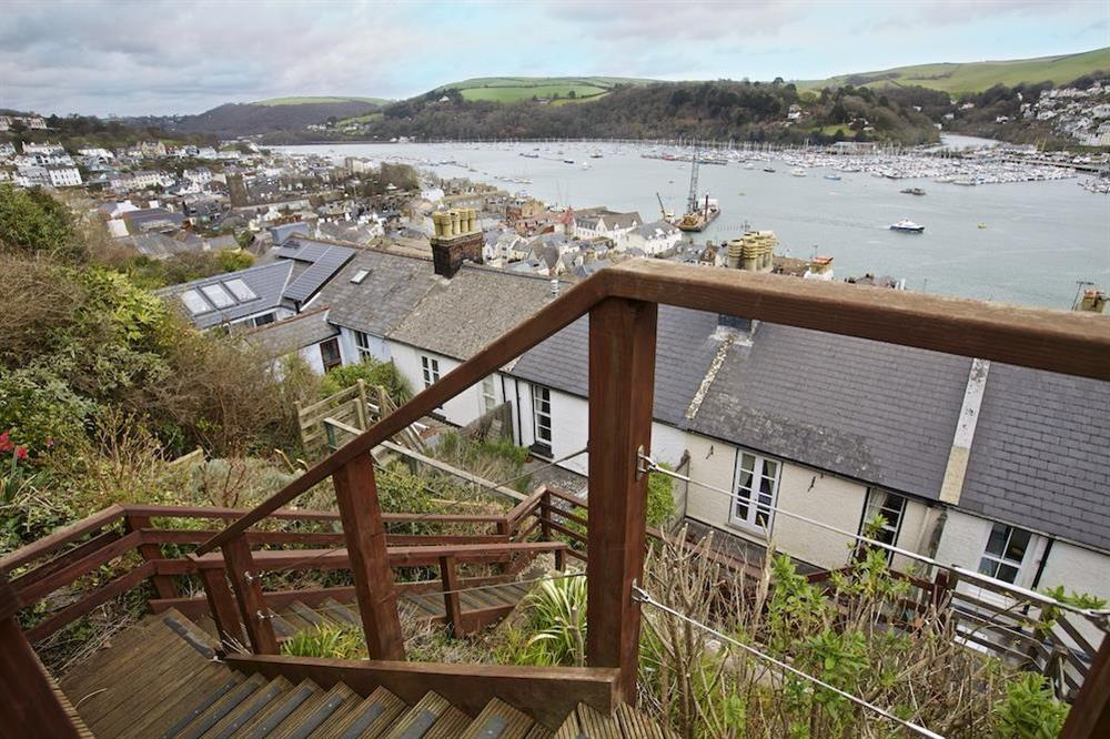 View from decking at 94 Above Town in , Dartmouth
