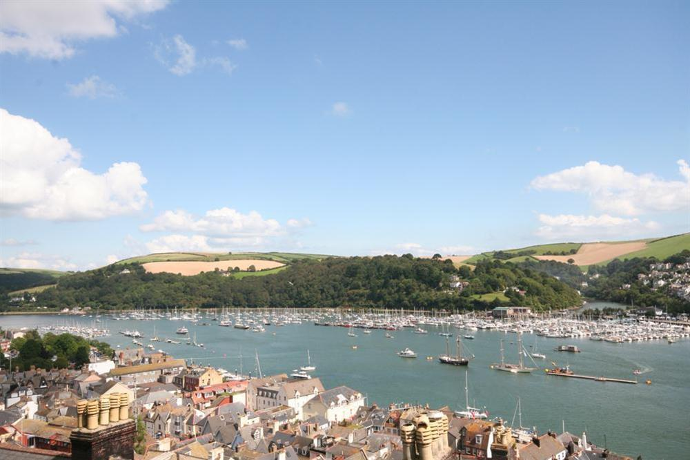 View towards Kingswear across the River Dart (from decking) at 94 Above Town in , Dartmouth