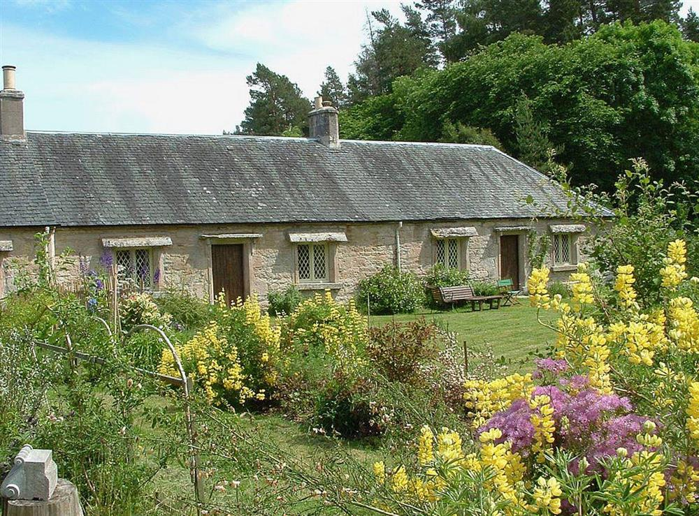 Lovely semi-detached cottage at A Wee Gem in Dunphail, near Forres, Morayshire