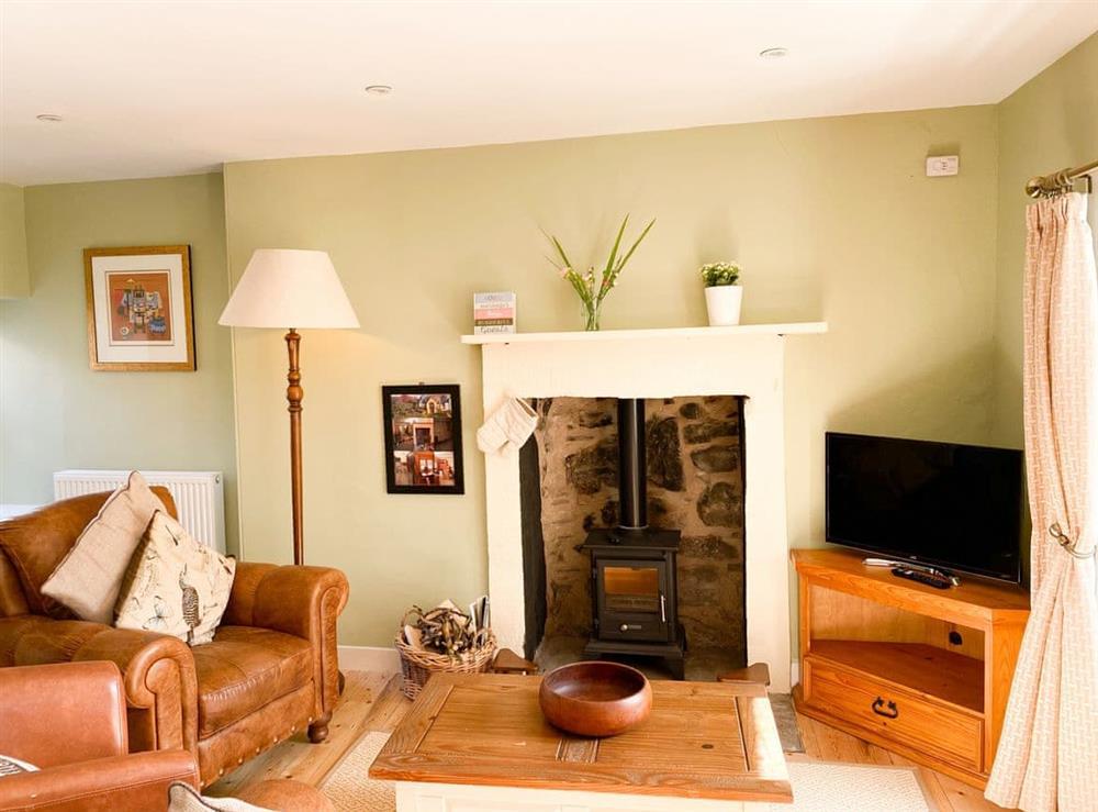 Living room/dining room at Abbeymill Farm Cottage in Haddington, near Edinburgh, Lothian, East Lothian