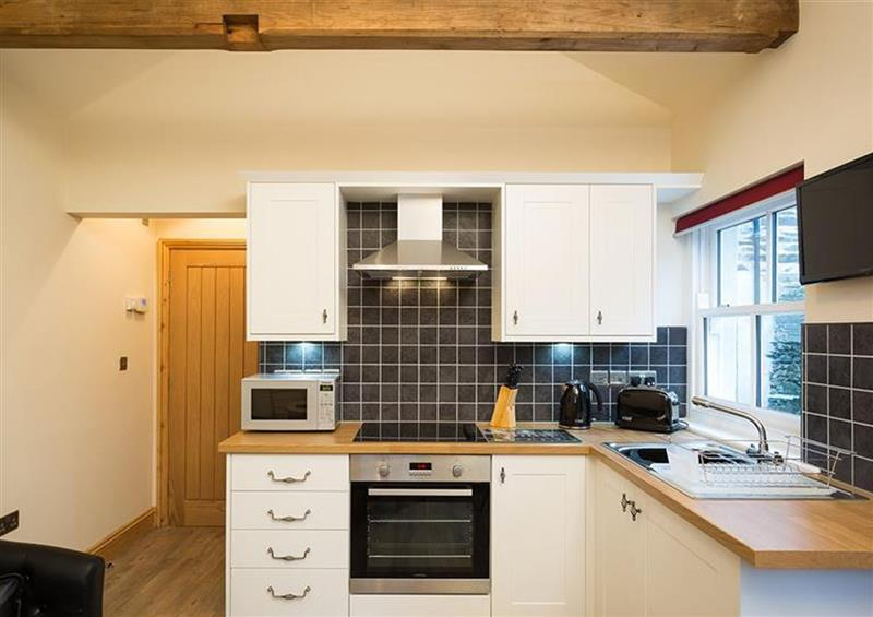 The kitchen at Abbots Reading Suite, Lakeside