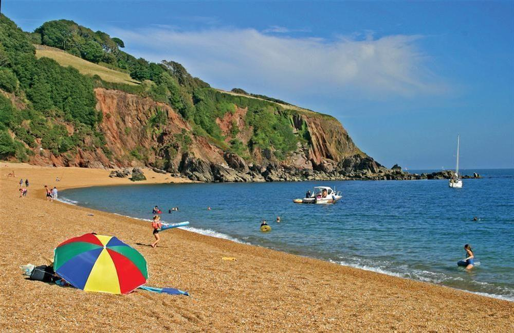 Visit nearby Blackpool Sands
