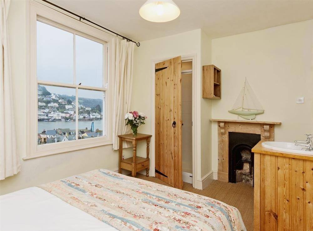 Bedroom 1 at Above Town 19 in Dartmouth, Devon