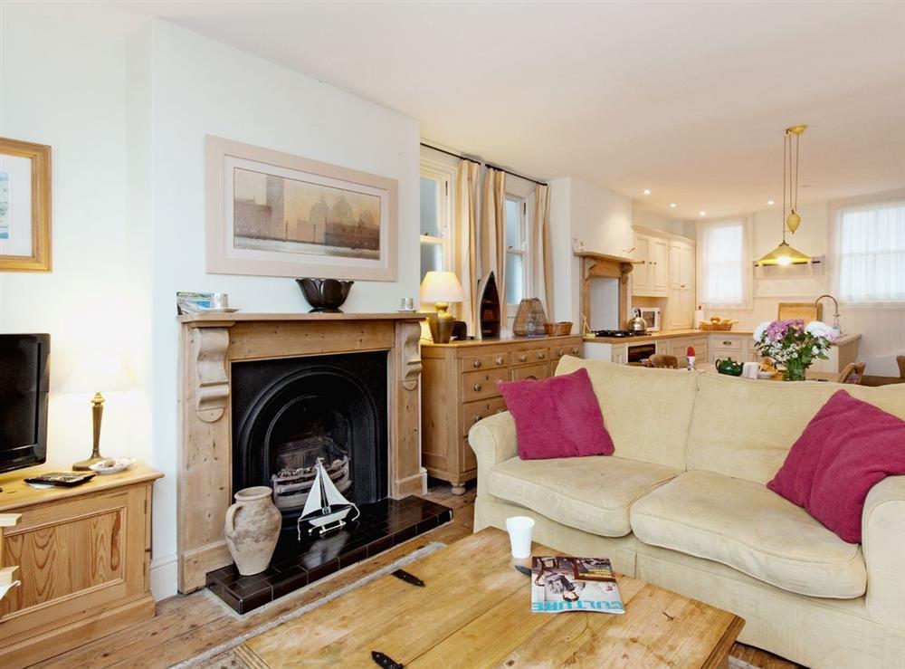 Sitting Room at Above Town 19 in Dartmouth, Devon