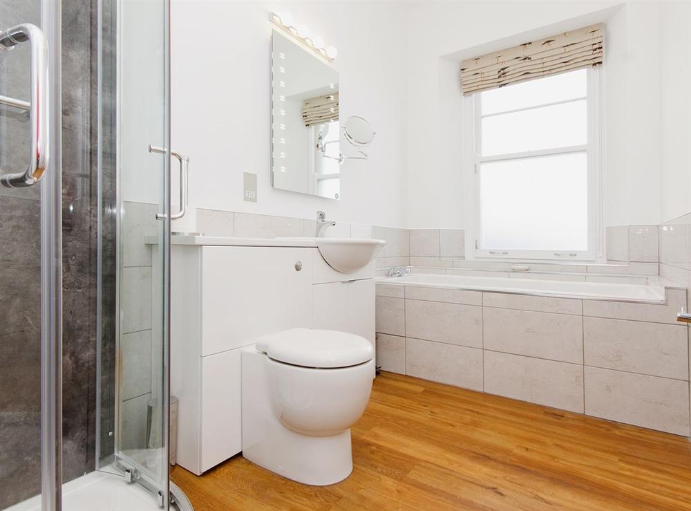 Bathroom at Above Town 77 in Dartmouth, Devon