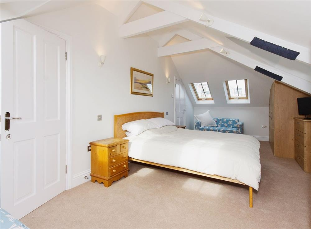 Double bedroom at Above Town 77 in Dartmouth, Devon